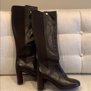 Tall Tory Burch Chocolate Brown boots